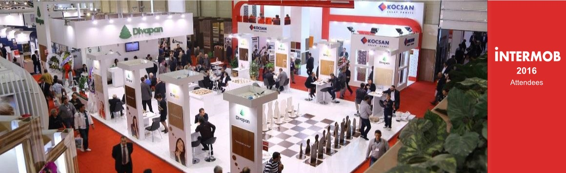 Photo of the Intermob International Furniture exhibition in Istanbul, attended representaives of Old Lami Ltd., major suppliers of laminates such as MFC, MDF and furniture accessories etc., to the Georgian market, based in Tbilisi, Georgia.