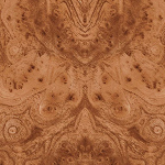 Image (small) of the Elm Roots kitchen worktop decor, from Old Lami's range of kitchen countertops / worktops